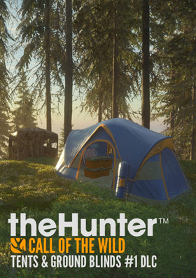 theHunter™ Call of the Wild - Tents & Ground Blinds (DLC)